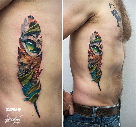 easy tattoo krakow polish artist creates double exposure tattoos inspired by