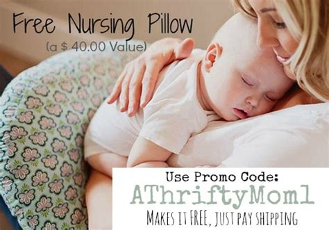 free nursing pillow from nursingpillow use promo code