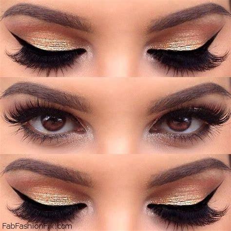 Eyeshadow Golden makeup how to shape your eyebrows tutorial fab fashion fix