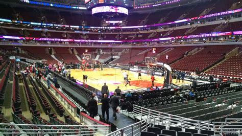 Section 119 United Center by United Center Section 108 Chicago Bulls Rateyourseats