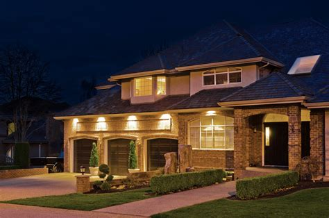 house lighting create a party atmosphere with outdoor recessed lighting