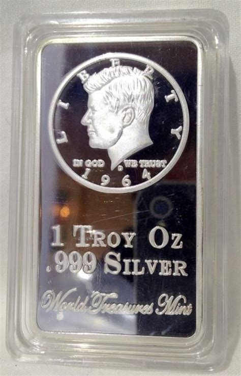 1 Troy Ounce 999 Silver Price - 1 troy ounce 999 silver clad bar