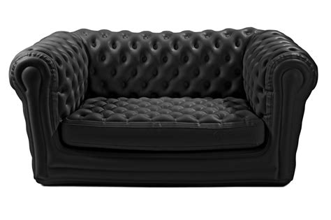 canapé gonflable chesterfield location de canap 233 chesterfield gonflable noir location