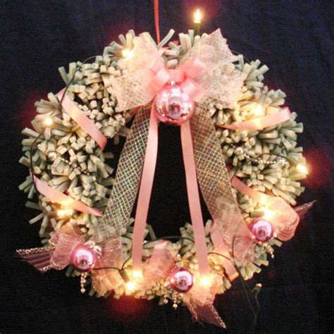 china sponge optic fiber decorative wreath s wo 45gp 1