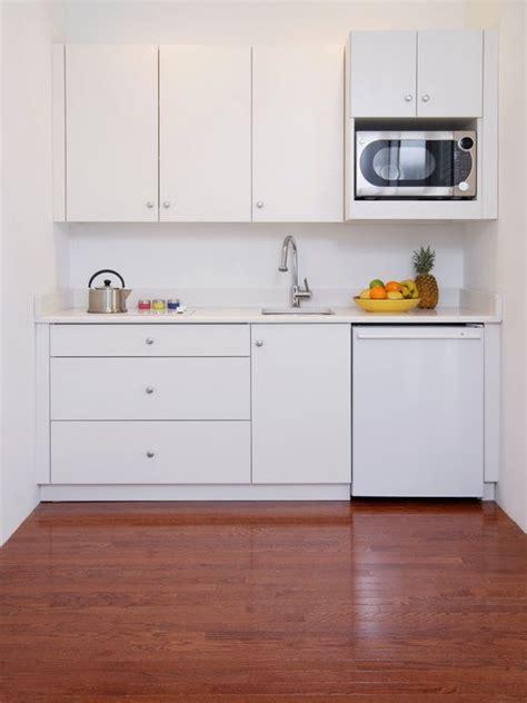 contoh model desain kitchen set minimalis modern gambar
