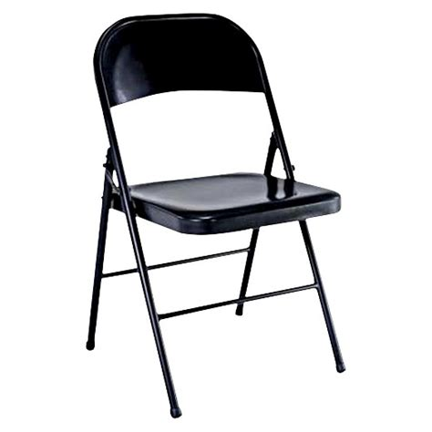 collapsible chair folding chair black plastic dev group 174 target