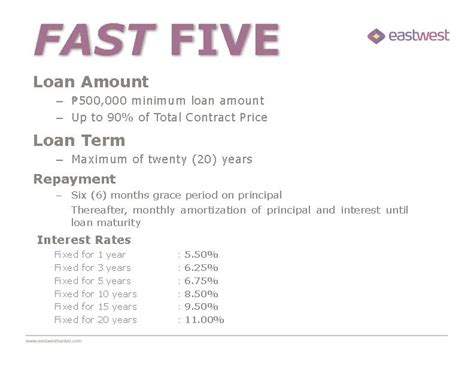 east west bank new year promotion east west bank fast five promo dmci homes