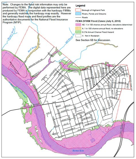 flood plain map highland park environment highland park environment news highland park new jersey