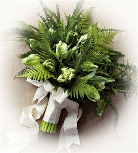 Live Wedding Bouquets by Diy Rustic Live Fern Bouquets For Weddings Home