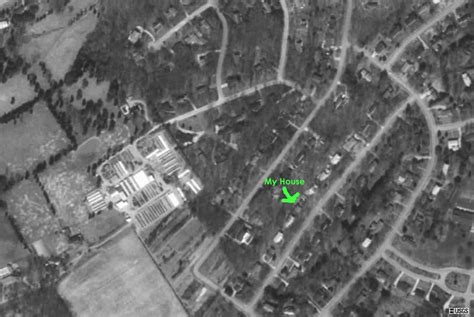 satellite photo my house