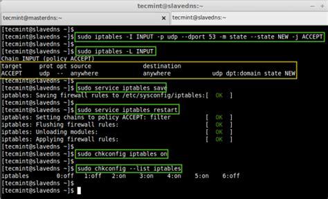 setup master slave dns server  bind tools  rhel