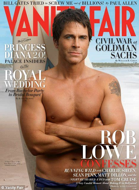 How Much Is Vanity Fair Magazine by Rob Lowe Shows Buff On Covershoot For