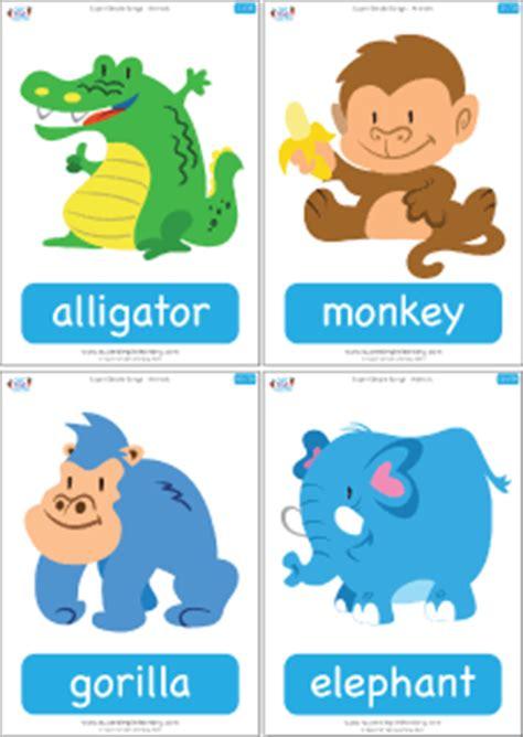 jungle animal flashcards printable super simple songs animals complete flashcards super