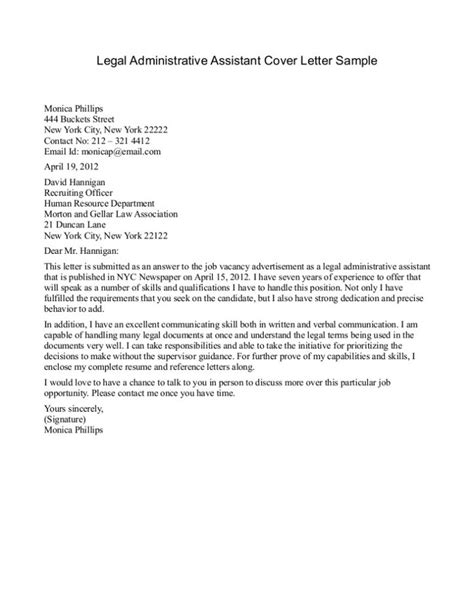 cover letter for admin application cover letter for administrative support application school