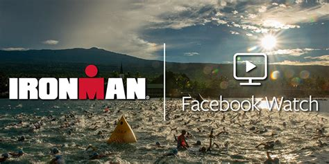 ironman announces facebook schedule