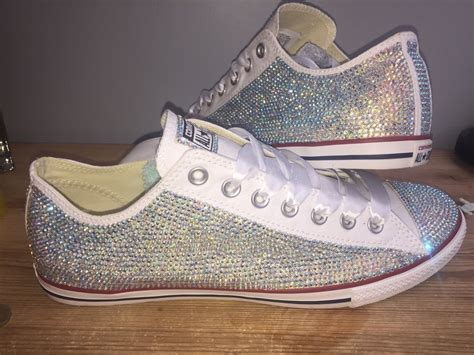 converse all wedding prom shoes size 3 9 covered