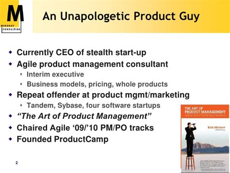 Product Marketing In Seattle Mba by Product Management Basics For Scu Mba Program