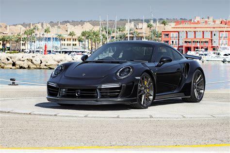 2017 black porsche 911 turbo topcar stinger porsche 911 adv5 2 cs series wheels