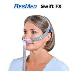 fx for nasal pillow cpap mask with pink headgear