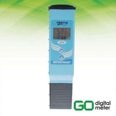 Alat Ukur Ph Meter alat ukur ph meter amtast kl 097 go digital meter