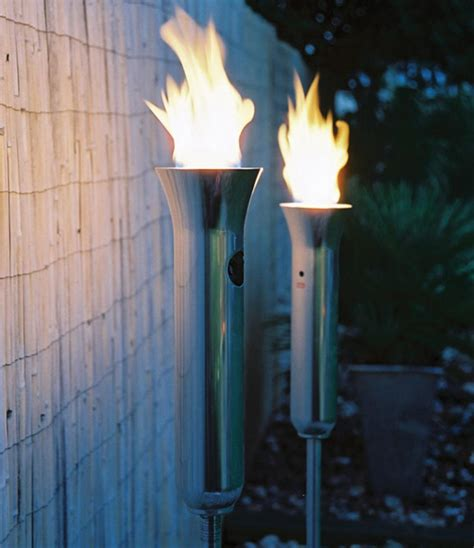 hotspot olympic torch outdoor gas light gardener