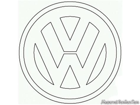aneka logo mobil  diwarnai mewarnai gambar
