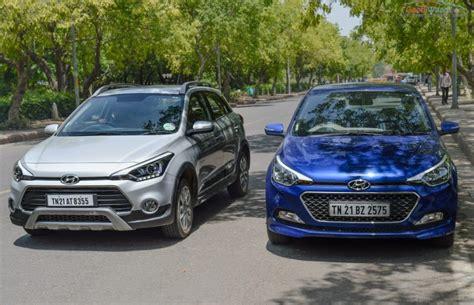 Hyundai I20 Elite 2020 by Hyundai Elite I20 Vs Active I20 Specs Design Comparison