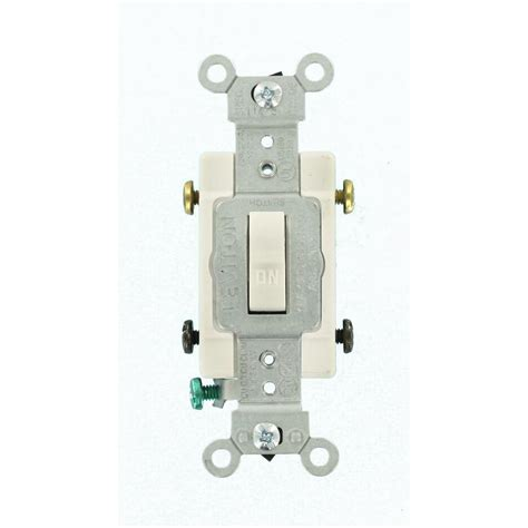 lighted toggle wall switch leaviton 20 amp commercial double pole wall switch wiring
