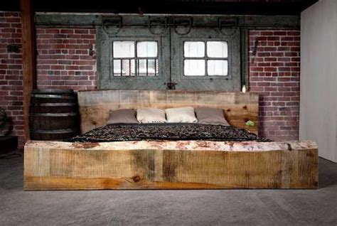 interior design with reclaimed wood and rustic decor in