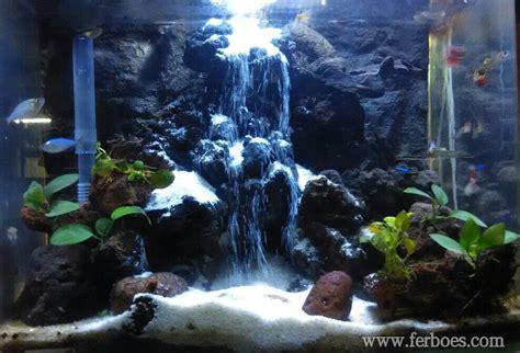 aquarium sand waterfall air terjun pasir waterfall sand
