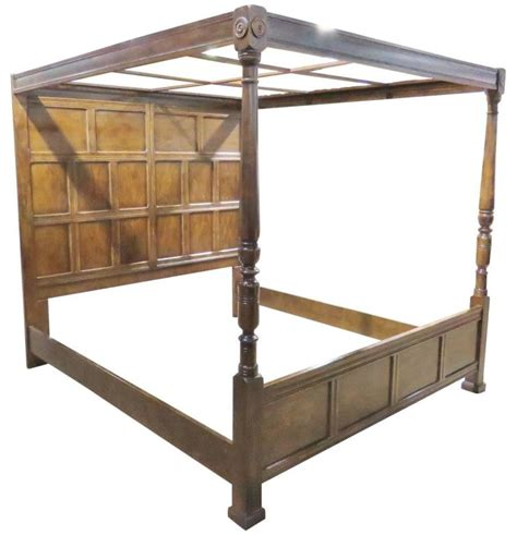 henredon beds henredon heritage walnut canopy bed for sale at 1stdibs