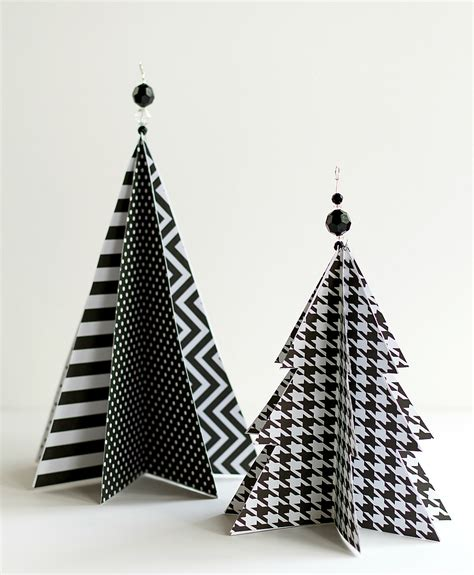How To Make Tree Decorations With Paper - crafts with