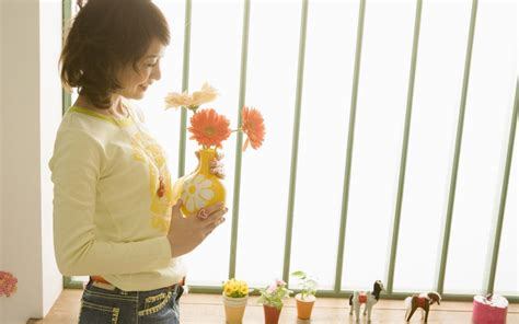 Flower Vase At Home by Pretty And At Home Flower Vase Potted Plants