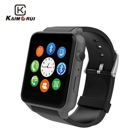 smart android kaimorui gt88 smart android pedometer rate tracker lighting sport smartwatch for ios