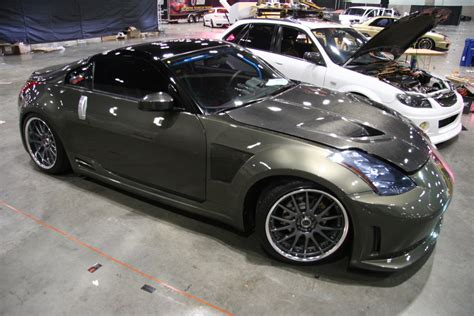 Nissan 350z Carbon Fiber by Modified Nissan 350z Carbon Fiber 1 Madwhips