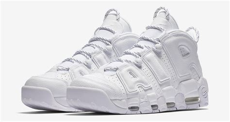 Nike Air White nike air more uptempo quot white quot available now