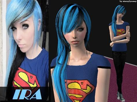 sims 2 male emo hair staceylynmay s ira vire