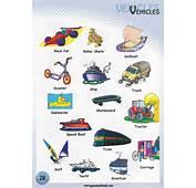 Vehicle Names / Transportation Vocabulary