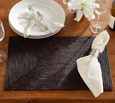 tava place mat set pottery barn