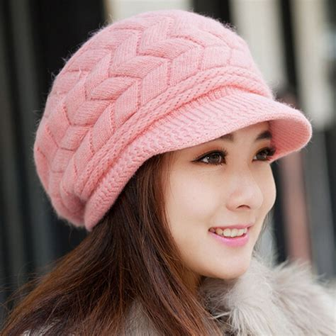 Promo Topi 2in1 S Newborn Terbaru 2015 new winter hat knitted hat winter s knitted hat beanies knitted hats in