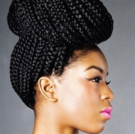 Box Braids Hairstyle Human Hair Or Synthtic | braids box braids protective hairstyle poetic justic