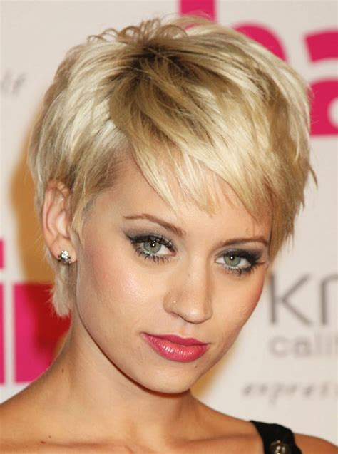 easy short hair styles for thin hair over 50 stunning cute short hairstyles for thin hair pictures