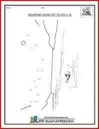 mountain pattern worksheet for kindergarten math mountain worksheets for kindergarten 2nd grade word