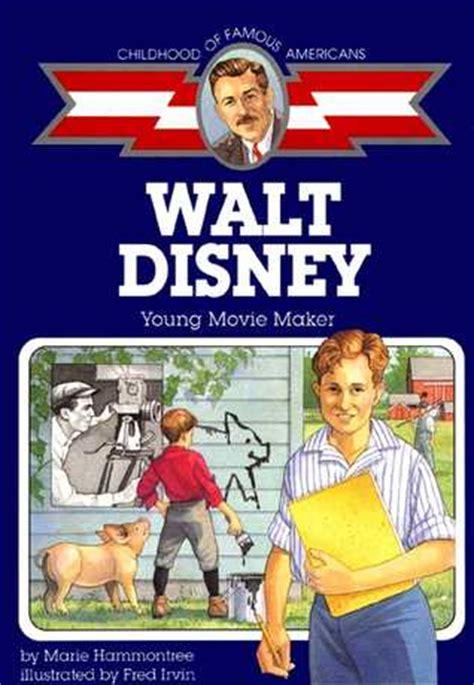 walt disney biography ebook free walt disney young movie maker by marie hammontree