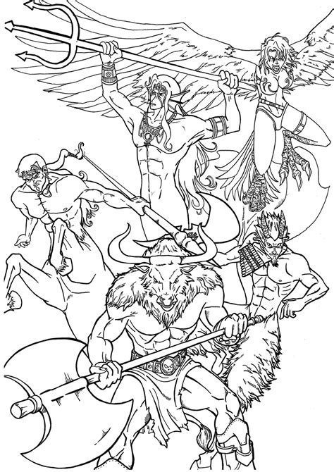 Free Printable Greek Goddess Coloring Pages Coloring Home Myth Coloring Pages