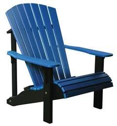 Polywood Chairs Deluxe Adirondack Chair Polywood Dutch Haus Custom
