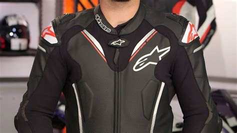 Atem V3 Leather Jacket alpinestars atem v3 race suit review at revzilla