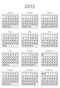 Calendar Templates 2013 by 2013 Weekly Calendar Template Excel