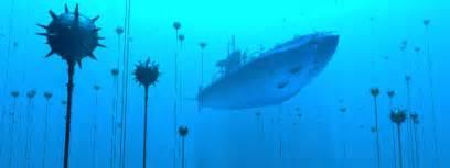 free 3d models submarine minefield pov ray