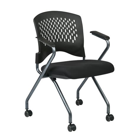 folding office chair canada osp deluxe folding chair 2 pack atwork office